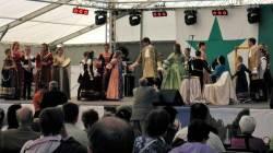 Barokkdans og -musikk innledet forestillingen