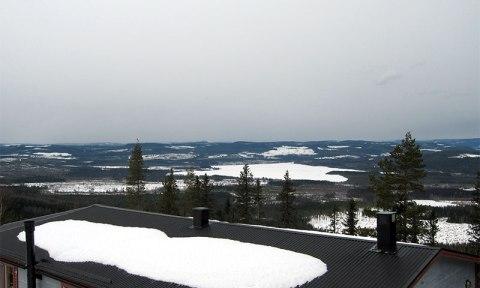 Fra Sveriges Mitt var det god utsikt i alle retninger. (Foto: Jardar)